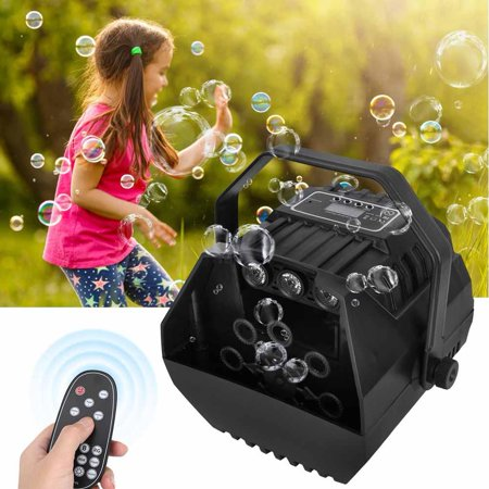 YLSHRF 15W 100-240V Portable Electric Bubble Blower Blowing Maker Machine DJ Party Club Stage , Bubble Machine, Electric Bubble