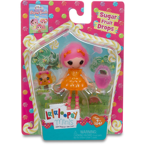 Lalaloopsy Sugary Sweet Mini Doll, Sugar Fruit Drops - Walmart.com ...