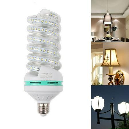 Energy Saving Spiral - LED Bright Energy Saving Spiral Corn Bulb 85-265V E27 White Light 5W