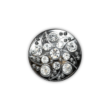 Swirl Rhinestone Buttons - Expo Int'l 3/4