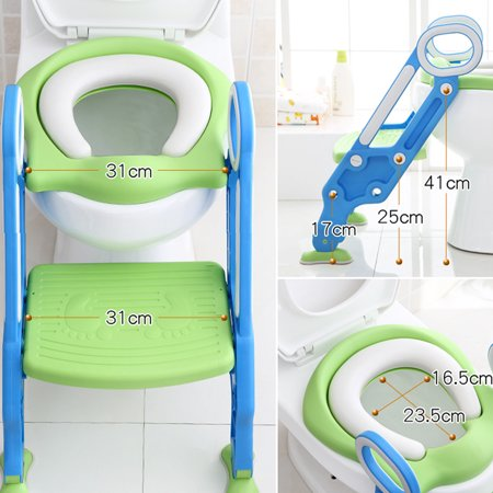 Awe Inspiring Adjustable Ladder Potty Toilet Trainer Safety Seat Chair Step Infant Potty Chair Toilet Training Non Slip Folding Seat Evergreenethics Interior Chair Design Evergreenethicsorg