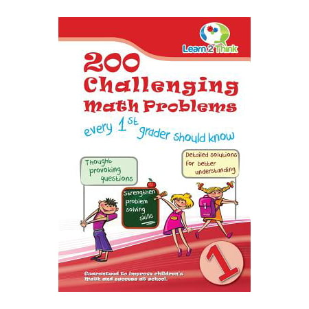 200 Challenging Math Problems Every 1st Grader Should Know - Halloween Craft Projects For First Graders