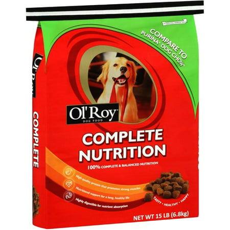 Ol' Roy Complete Nutrition Dog Food, 15 lb