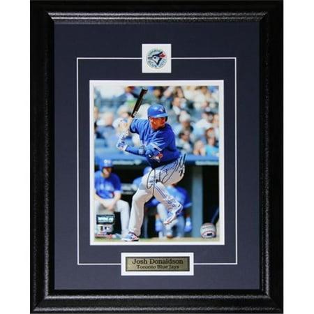 Midway Memorabilia donaldson_8x10_signed Josh Donaldson Toronto Blue Jays Signed 8x10 Frame by