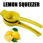 Manual Large Lemon Squeezer Lime Squeezer Easily Makes Fresh Juice, Stainless steel hand lemon squeezer is a must have...