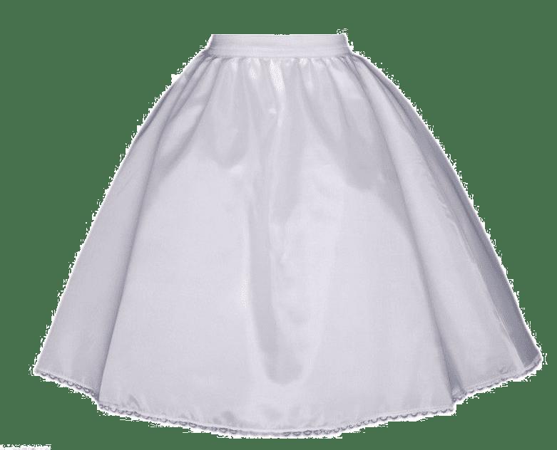 """Crinoline Petticoat Slip Underskirt White For 18/"""" American Girl Doll Clothes"""
