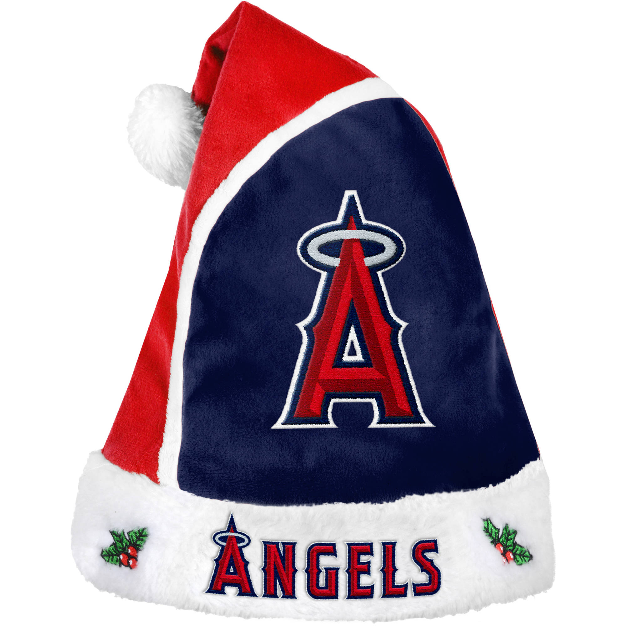 Forever Collectibles MLB 2015 Santa Hat, Los Angeles Angels