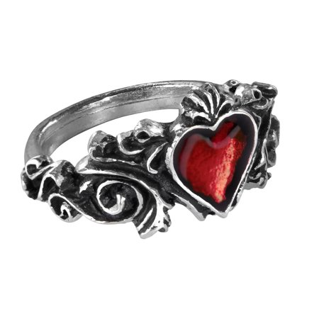 Image of Alchemy Gothic Betrothal Ring Size Q/8.5