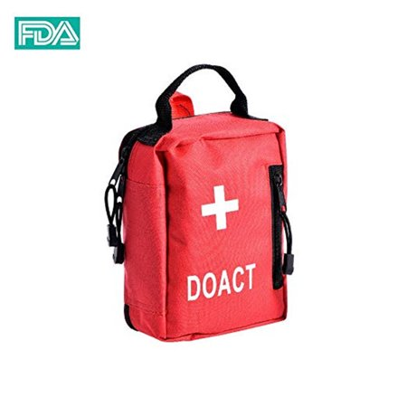 WALFRONT First Aid Kits 203 PCS Medical Supplies and Equipment for Outdoor Indoor Emergency Survival for Camping Hiking Boating Traveling (Home Aid Medical Equipment & Supplies Inc)