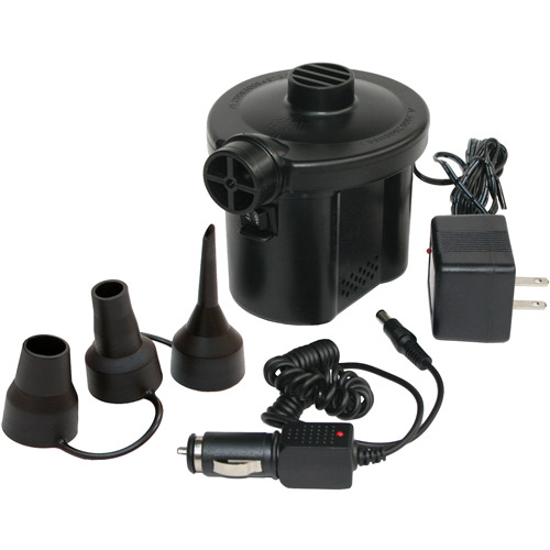 Pure Comfort Electric Air Pump with Car Power Adapter