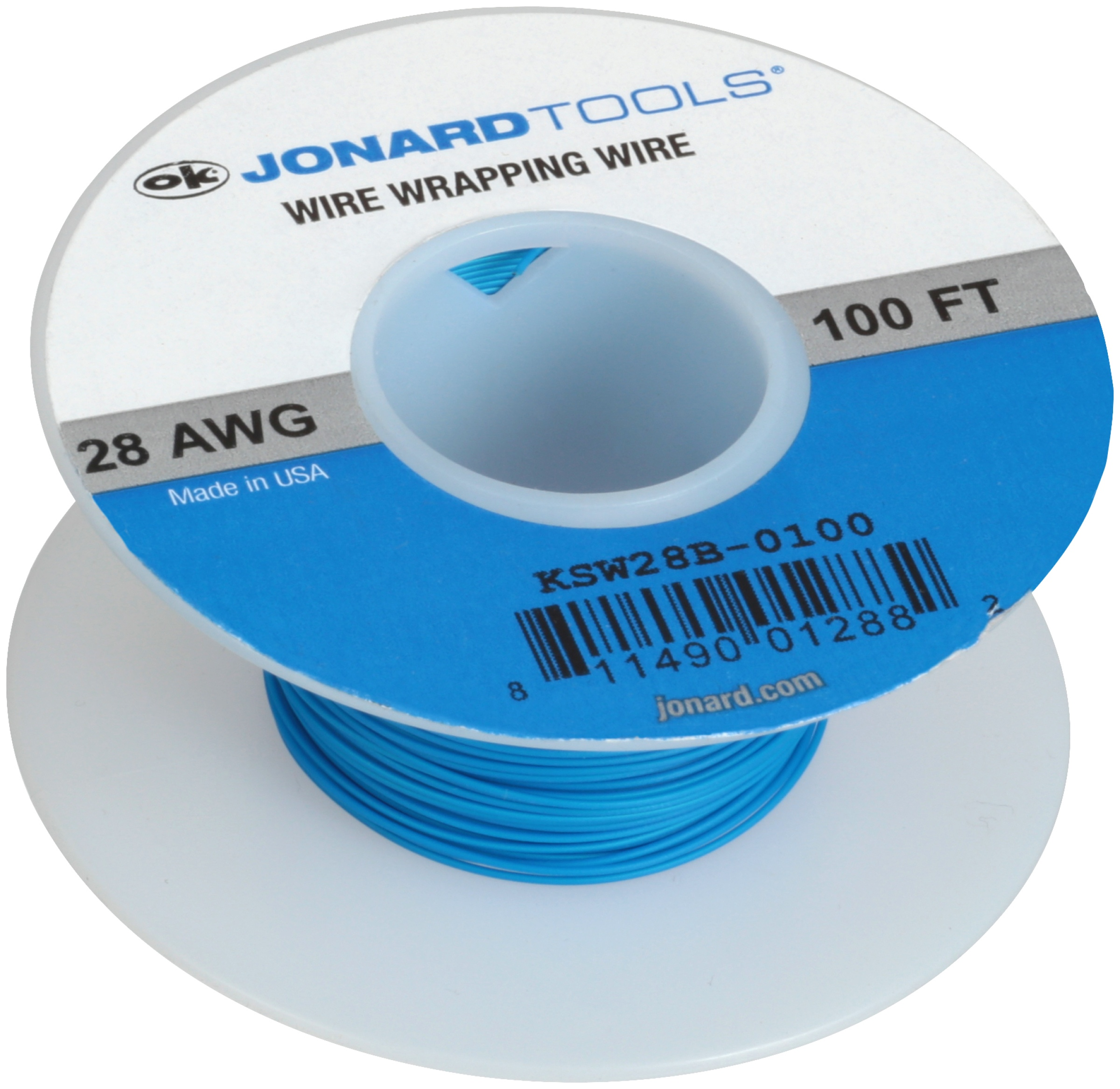 Jonard Tools® 28 AWG Wire Wrapping Wire 100 ft. Pack