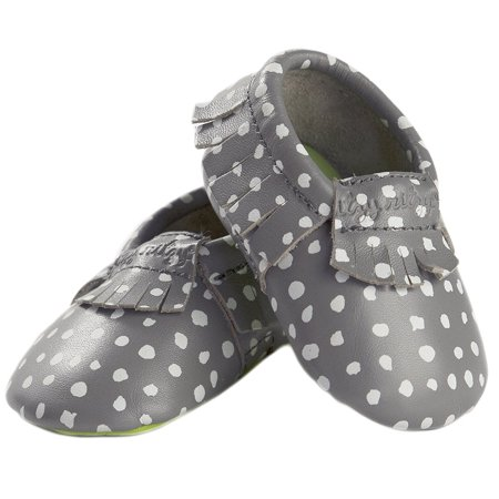 Handmade Moccasin (Itzy Ritzy Moc Happens Handmade Genuine Leather Baby Moccasin (Infant) )