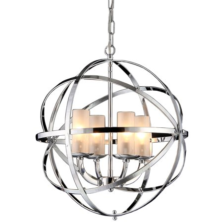 (Warehouse of Tiffany Qadira 4 Light Drum Chandelier)