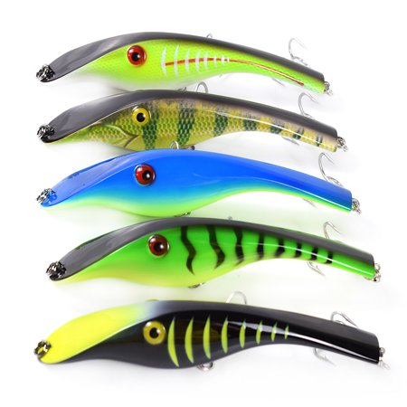 5.5in / 1.5oz Bionic Fishing Lure Hard Body Sinking Bait Fishing Bass Lure Fishing Lure Artificial Bait Lifelike Crankbait Hooks Fishing Tackle - image 5 of 7