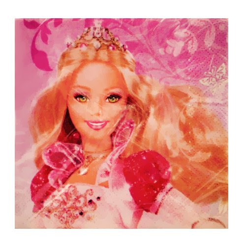 Barbie '12 Dancing Princesses' Small Napkins (16ct)