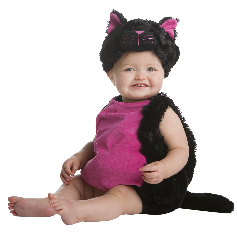 Generic Halloween Infant Black Cat Bubble Halloween Costume