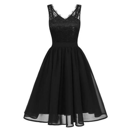 Unomatch Women Bodycon Side Long Black Layer Dress Walmart