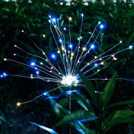 Epicgadget Solar Firework Light 105 Led Multi Color Outdoor