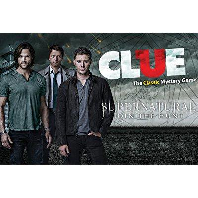 Supernatural Collectors Edition Clue Board Game