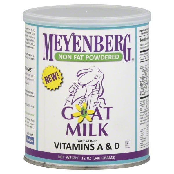 Meyenberg Non Fat Powdered Goat Milk, 12 oz