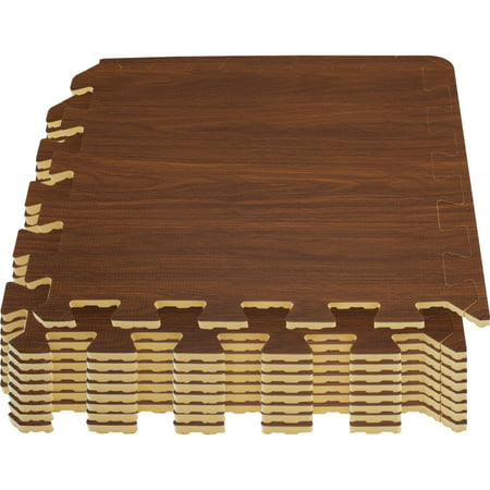 Sorbus Wood Grain Floor Mat 3 8 Inch Thick Foam