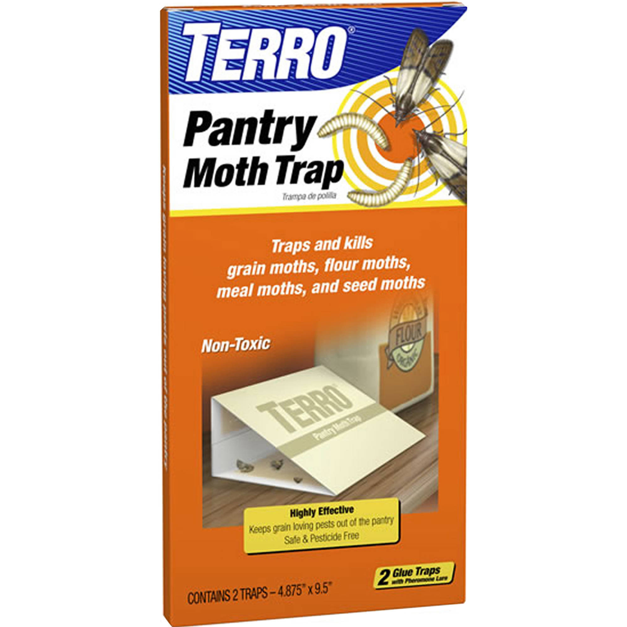 TERRO Pantry Moth Traps, 2 count