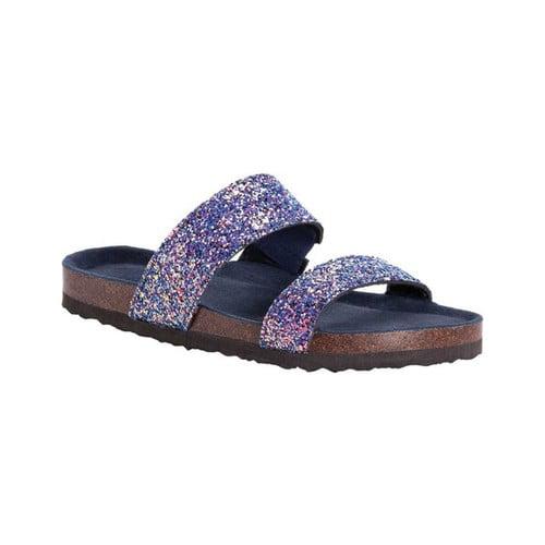 glitter sandals walmart