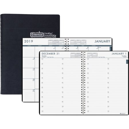 House of Doolittle, HOD289632, Recycled Daily/Monthly 24/7 Appointment Planner, 1 Each