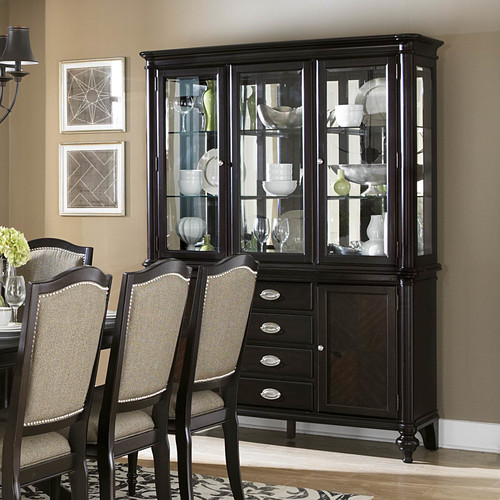 Alcott Hill Rheems China Cabinet by