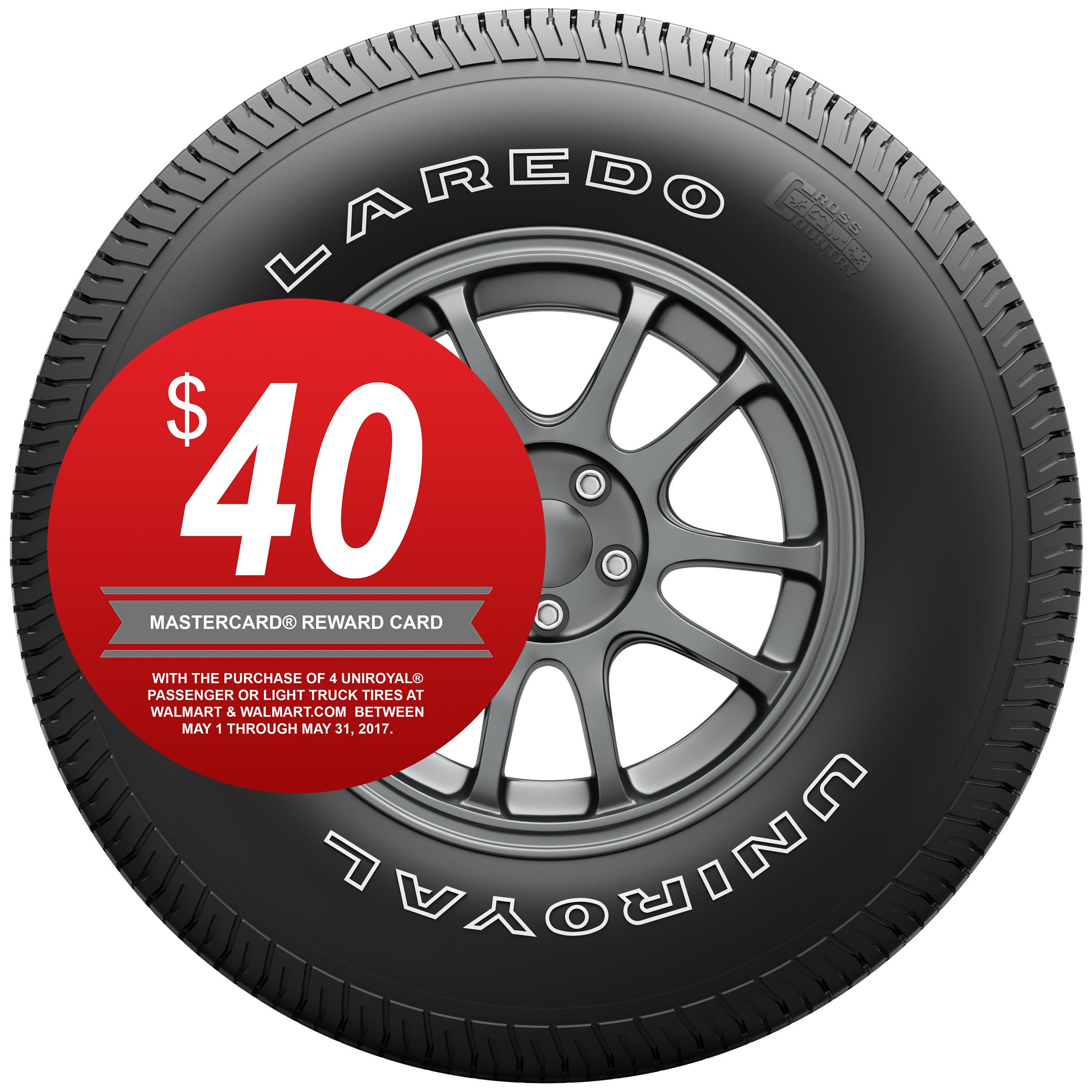 Uniroyal Laredo Cross Country Highway Tire P255 70r16 109s Walmart Com