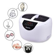 Costway 2.5 L Digital Heated Ultrasonic Cleaner Goggles Jewelry Rings Professional