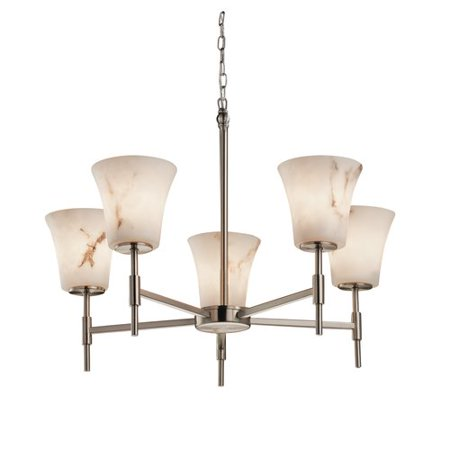 Justice Design Group LumenAria Union 5 Light Chandelier