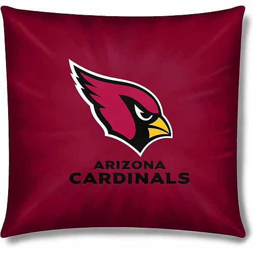 """Cardinals Official 15"""" Toss Pillow"""