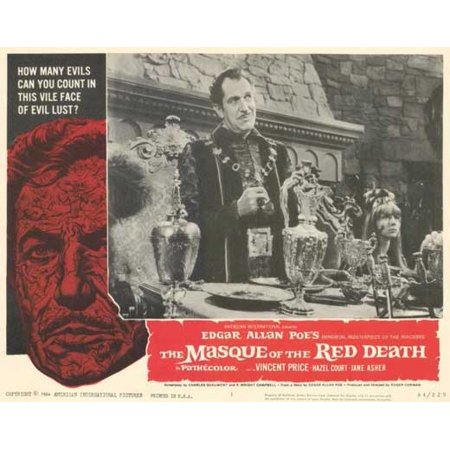 Masque of the Red Death - movie POSTER (Style A) (11