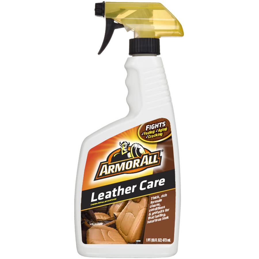 Armor All Leather Care, 16 oz, Car Leather Cleaner and Conditioner