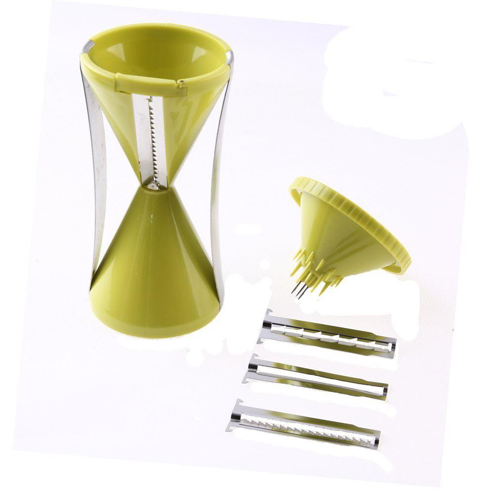 AZLife V-Type Spiral Vegetable Hand Julienne Slicer and Dicer, Noodle Spaghetti Pasta... by