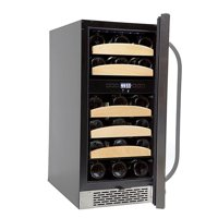 Whynter 28 Bottle Dual Zone Built-In Wine Cooler