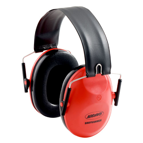 Peltor Shotgunner NRR 21 dB Earmuff, Red