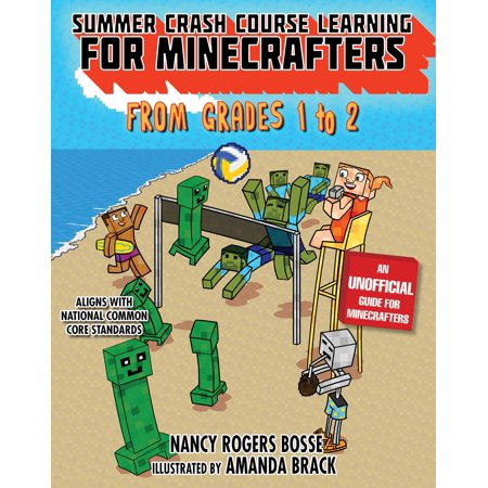 Summer Crash Course Learning for Minecrafters: From Grades 1 to