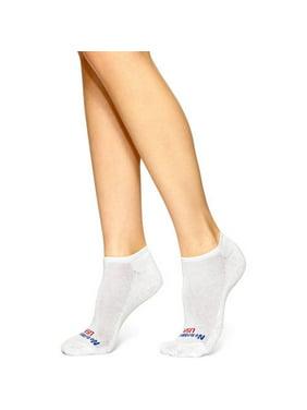 Women's Solid No Show Socks, 12pk