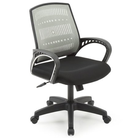 Pemberly Row Adjustable Height Swivel Task Chair in Gray - image 5 of 5