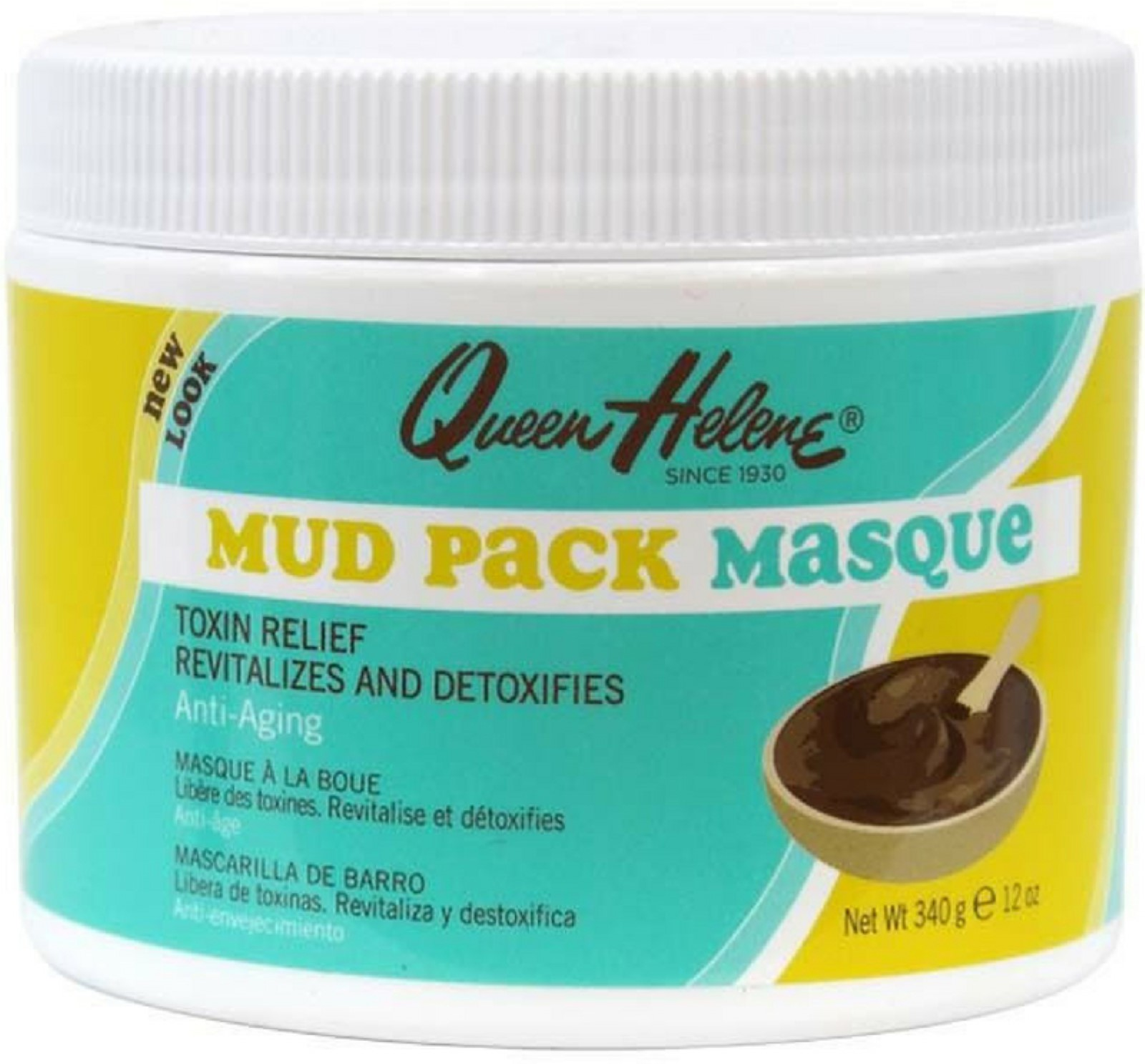 QUEEN HELENE Mud Pack Masque, 12 oz