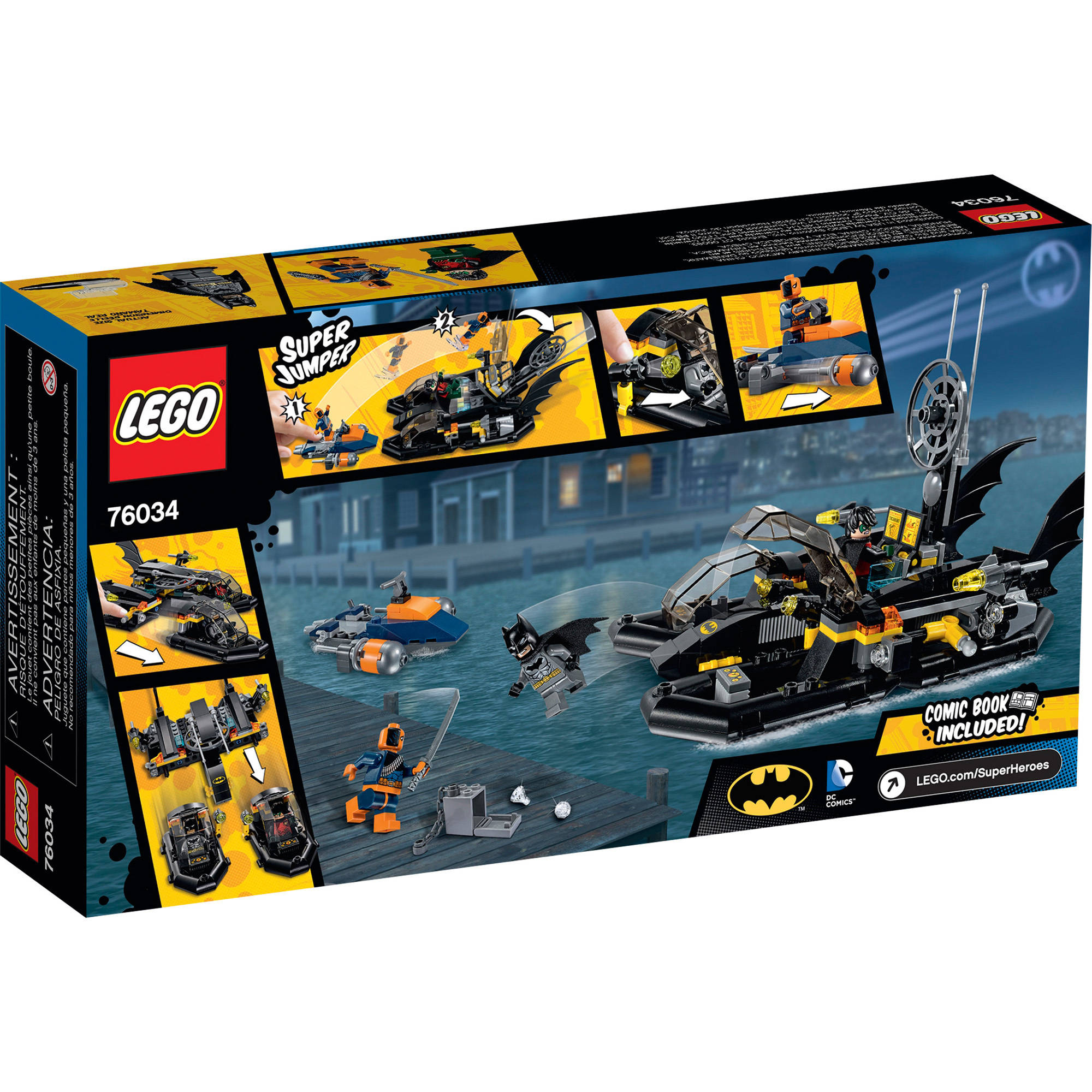 Lego Harbor Super The Batboat Heroes Pursuit76034 7bYgyfI6v