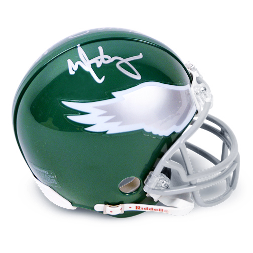 Mark Wahlberg and Vince Papale Autographed Invincible Mini-Helmet