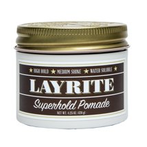 Hair Styling: Layrite Superhold Pomade