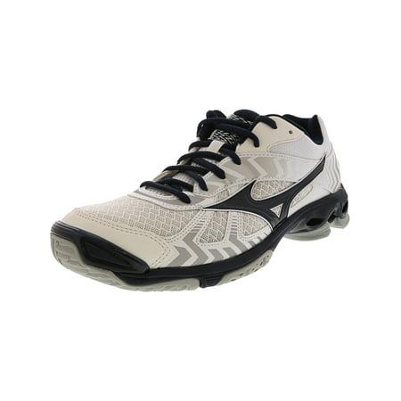 best service 9fbe8 aa539 Mizuno Women's Wave Bolt 7 Volleyball Shoe - 11M - White / Navy / Silver