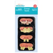 Way to Celebrate Funny Teeth, 4-Pack