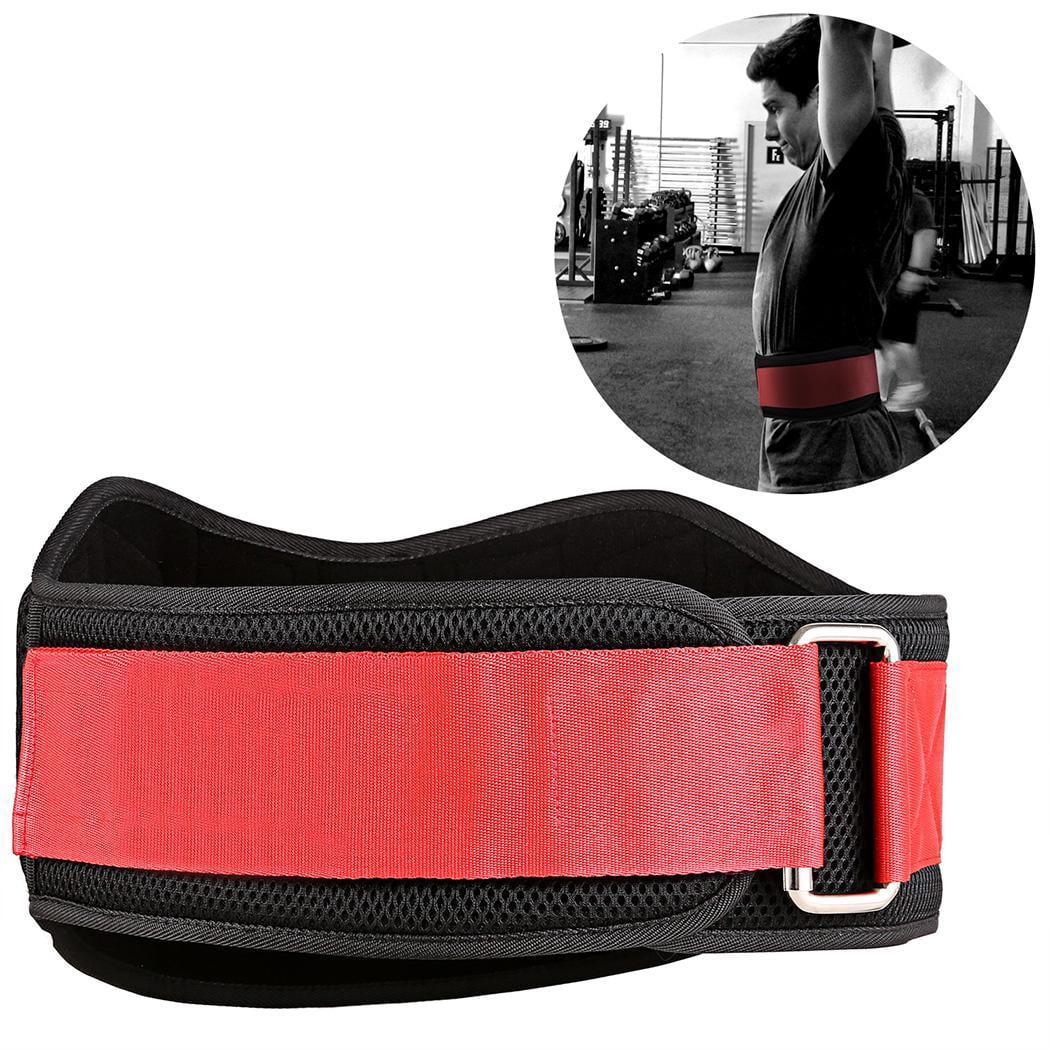 Hifashion   Black&Red   Portable Unisex Weight Lifting Belt for Men&Women xxl  HFON