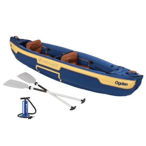 Sevylor Ogden 2-person Canoe Combo Ogden 2-Person Canoe C...