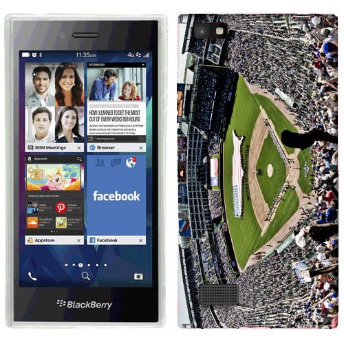 Mundaze Baseball Game Phone Case Cover for BlackBerry Leap
